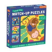 Match-Up Puzzel Jungle baby's