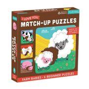 Match-Up Puzzel Boerderij baby's