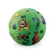 Rubberen Speelbal Wildste Dieren 13 cm