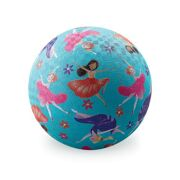 Rubberen speelbal Let's dance 13 cm