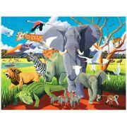 Puzzel Wilde Safari 500 stuks