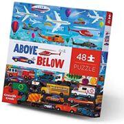 Puzzel Above and Below Things that Go 48 stuks - Crocodile Creek 3876003