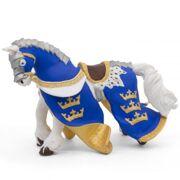 Paard van Koning Arthur blauw - PAPO 39952
