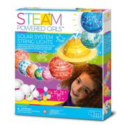 4M STEAM: POWERED GIRLS/ZONNESTELSELSYSTEEM op STRING