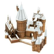 Metal Earth ICONX Harry Potter Hogwarts Castle In The Snow - ME 575138