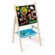 Verstelbaar 2-zijdig Schoolbord - Scratch 6181083