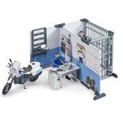 Politiestation met politiemotor - BR 62732
