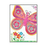 Wenskaart Bella Butterfly - DEC QPMT65433