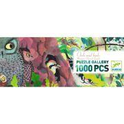 Puzzel & Poster Uilen en Vogels 1000 stuks - DJE DJ07644