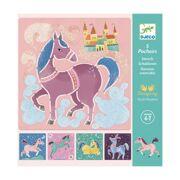 Sjablonen Paarden - DJE DJ08915