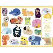 Gekleurde stickers moeders en hun baby's - DJE DJ09077