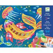 Collage Atelier Tekenen met papier - DJ09347