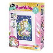 Sparkles Glitterschilderijen Eenhoorn