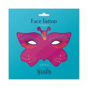 Snails Face Tattoo - Brazil