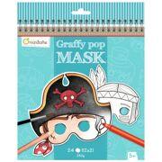 Avenue Mandarine - Graffy Pop Maskers jongens