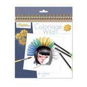 Kleurboek Coloriage Wild 5