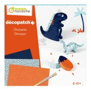 Grote Creatieve Box Décopatch Dinosaurussen