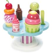 Honeybake Houten Set ijsjes Carlo's Gelato - Le Toy Van TV310