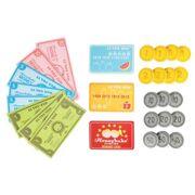 LTV Honeybake - Set met speelgeld (munten, biljetten en kaarten)