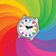 Twistiti uurwerk: Wijzerplaat met Cijfers