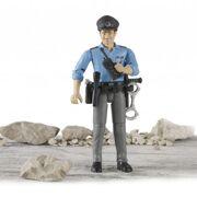Bruder - Politieman met accessoires