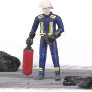 Bruder - Brandweerman met accessoires