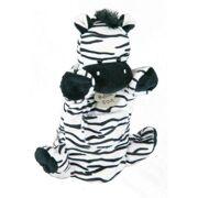 Histoire d'Ours Handpop Zebra 25 cm