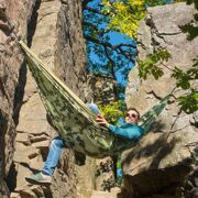 La Siesta 2-persoons reishangmat Colibri, camo forest