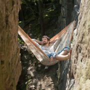 La Siesta 2-persoons reishangmat Colibri, camo sahara