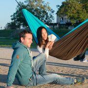 La Siesta 1-persoons reishangmat Padded Colibri, turquoise