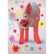 Wenskaart Prinses Piggy - DEC PR66274