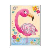 Wenskaart Fifi Flamingo - DEC QPJO65431