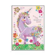 Wenskaart Flora Unicorn - DEC QOJO65892