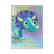 Wenskaart Timmy Triceratops - DEC QPJO66058