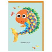 Wenskaart Fishy - DEC QPMTG106