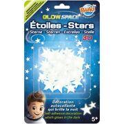 Fosforescerende stickers sterren 3D