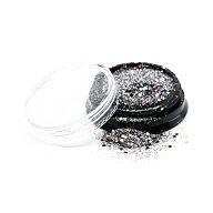 Glitter Dust Multi Silver