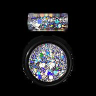 Holo Glitter Mix Silver