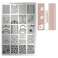 Stamping Plate 96 Love Lace 3