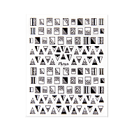 Nail Art Sticker N° 02