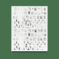 Nail Art Sticker N° 03