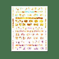 Nail Art Sticker N° 06