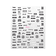 Nail Art Sticker N° 09