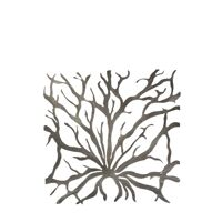 LAGON - set of 2 coral frame - metal - 52x52 cm