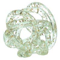 GRAPH - boule déco - verre - glitter - Ø12cm