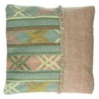ALTAY - kussen - geweven wol/stone washed - 45x45cm