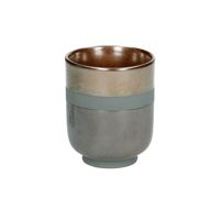 PORCELINO STELLAR - gobelet - faïence - DIA 6,5 x H 8 cm - bronze