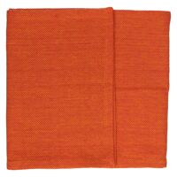 SIMPLICITY - table runner - 100% cotton - orange - 40x140 cm