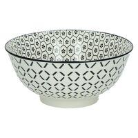 KASHGAR - bowl L  - porcelain - black - D18x8