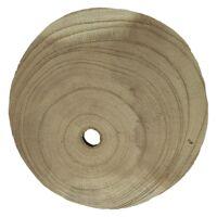 PURE - bois de paulownia - DIA 15 x H 3 cm